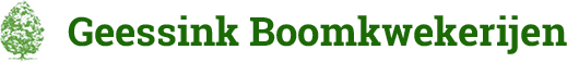 Logo Geessink Boomkwekerijen
